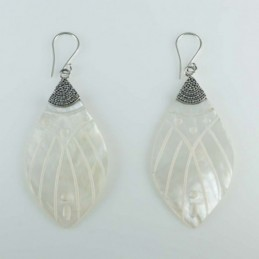 Earring Lanz. MOP Shell