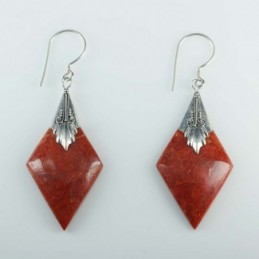 Earring Lanz. Coral
