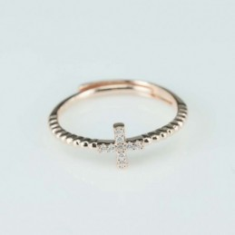 Ring   Plus  6mm.  rose...