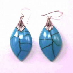 Earring Lanz. Turquoise