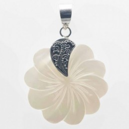 Pendant Round Flower 28mm....