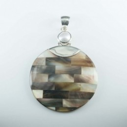 Pendant Round 41mm.with...