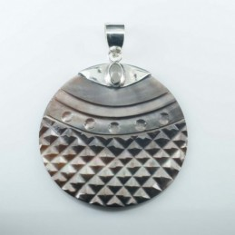 Pendant Round 40mm.with...
