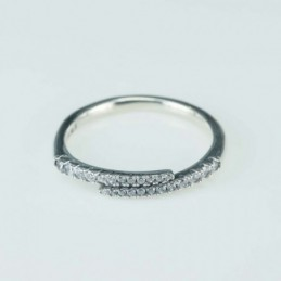 Ea Hoop 1.2x12mm. with C.Z....