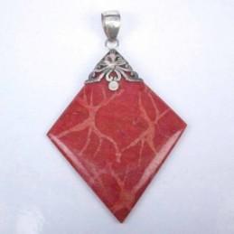 Pend. square oposite coral