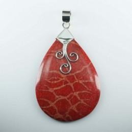 Earring Oval Ametisth Stone...