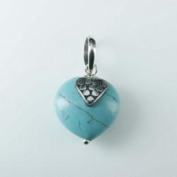 Pendant Heart Turquoise...