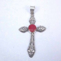 Pend. Cross Coral