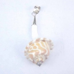 Earring Rhombus Abalon Shell