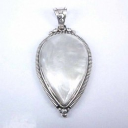 Pendant Oval 35x50 mm. MOP...