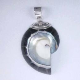 Pend. nautilus Black color