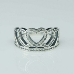 Ring Crown 10mm. Circonia