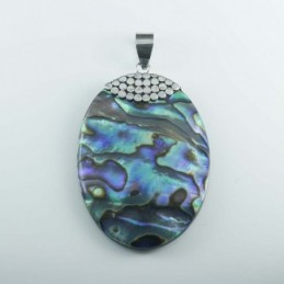 Pendant Oval Abalon Shell