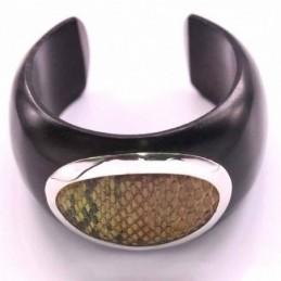 Bracelet Wood with stones