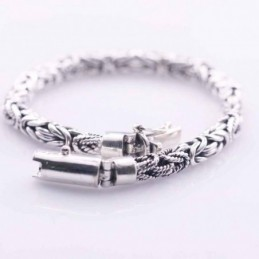 Bracelet 7mm. Bali Style Plain