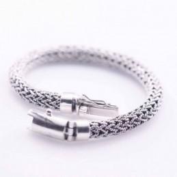 Bracelet 8mm. Bali Style Plain