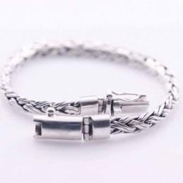 Bracelet 6mm. Bali Style Plain