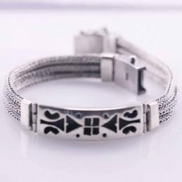 Bracelet 11.5mm. Bali Style...