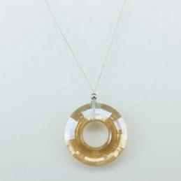 Necklace Donut Champain color