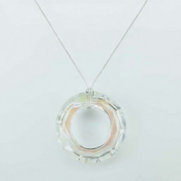 Necklace Donut White color