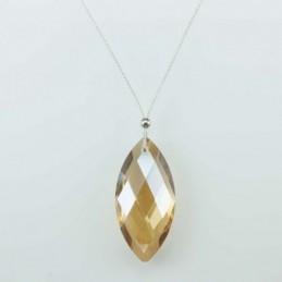 Necklace Lanz. champain color