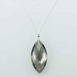 Necklace Lanz. Grey color