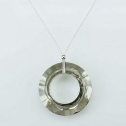 Necklace Donut Grey color