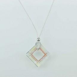 Necklace Square white color
