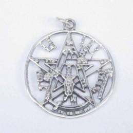Pend. Round Tetragrammaon...