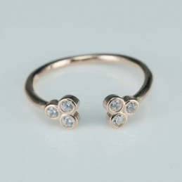 Ring  flower  5mm.  rose...