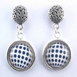 Earring Round with Photo