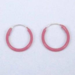 Ea Hoop 1.2X12mm. Rose Color