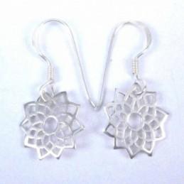 Earring Flower Chakras