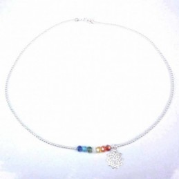 Necklace ball plain with...