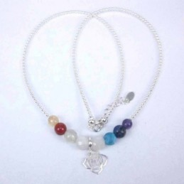Necklace Chakras with...