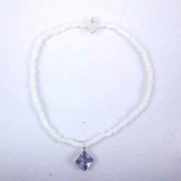 Bracelet ball 3-4mm.Crystal...