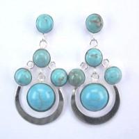 Earrings Torquoise Stone