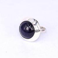 Rings Blue Sun Stone