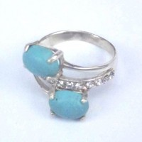 Rings Turquoise Stone