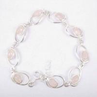 Bracelet Rose Quartz Stone