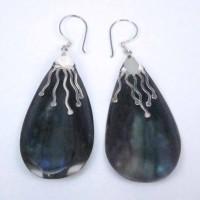 Earrings Onix Stone