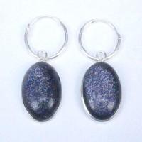Earrings Blue Sun Stone