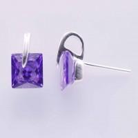 Earrings C.Z. Circonia
