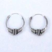 Earrings Hoop Bali