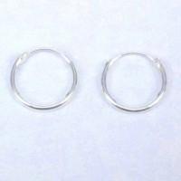 Earrings Hoop Plain